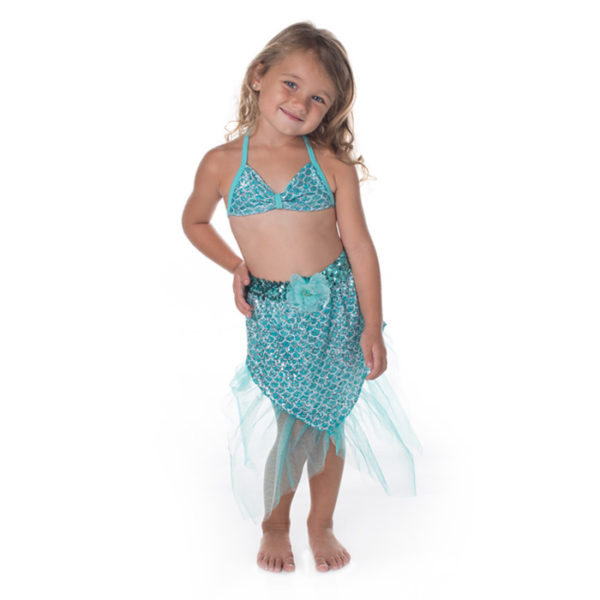 5422 Girls Aqua Misty Mermaid Skirt