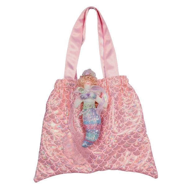 8112 Mermaid Tail Tote Bag Pink