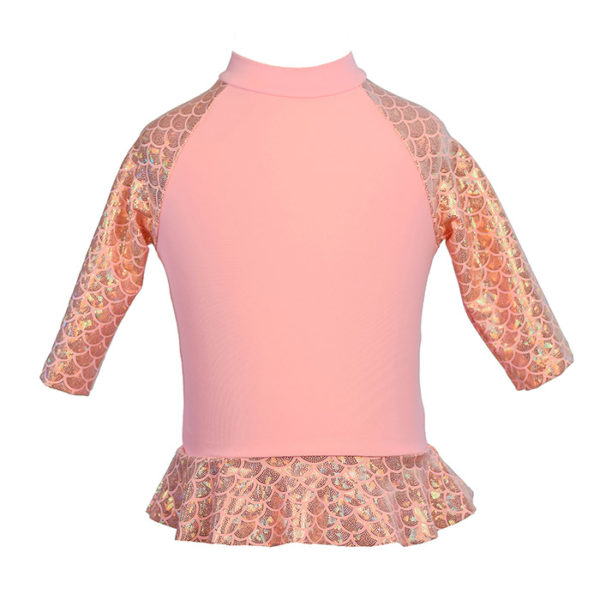5453 Baby Rash Guard Light Pink
