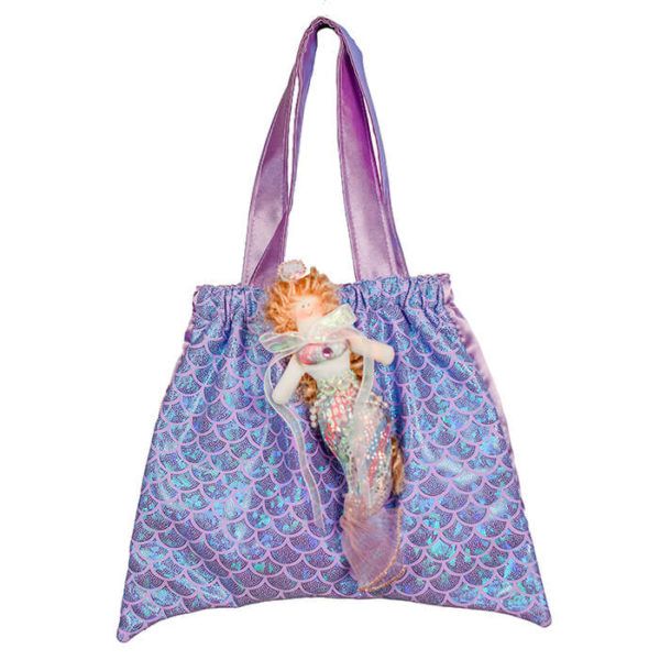8112 Mermaid Tail Tote Lavender